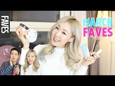 January-March Beauty Favorites ft. Grumpy Oppa ♥ 3월 즐겨쓴 뷰티템 추천!