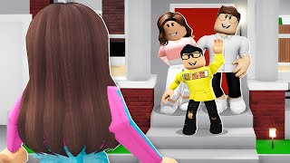 MY SON RAN AWAY.. HE JOINED A NEW FAMILY! (ROBLOX BROOKHAVEN RP)