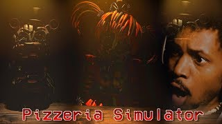 I COME BACK TO YOUTUBE TO THIS!? | Five Nights at Freddy's: Pizzeria Simulator (Part 1)
