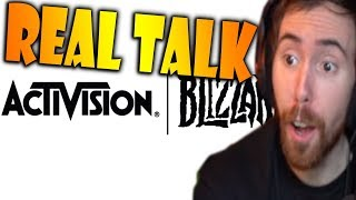 "Asmongold Watches ""Real Talk About The Blizzard Staff Massacre"" by Taliesin & Evitel"