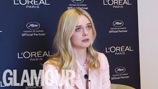 GLAMOUR UNFILTERED: Elle Fanning on