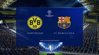 Dortmund vs Barcelona 2019/20 Vòng Đấu Bảng F Cúp C1 Châu Âu Ngày 18_9_2019 FIFA19