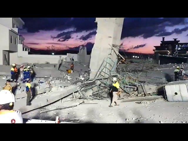 墨西哥興建中商場倒塌 已知7死