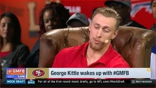 George Kittle Joins Good Morning Football Today