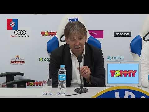 Trener Vulić nakon utakmice Hajduk - Rijeka