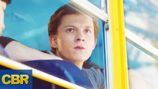Spider-Man Never Left The Bus In Avengers Infinity War (Marvel Theory)