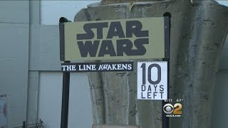 'Star Wars' Fans Camp Out In Hollywood 10 Days Ahead Of Film's Release