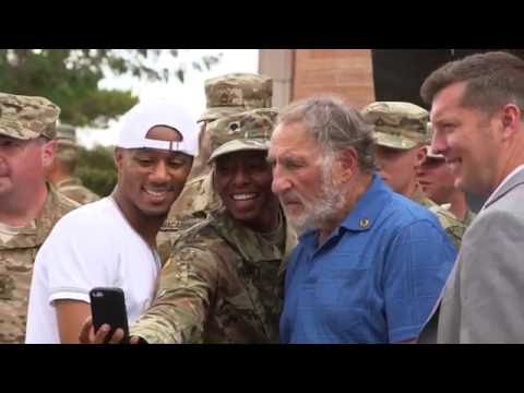 """""""Independence Day: Resurgence"""" Cast Members Spend a Day with the U.S. Army"""