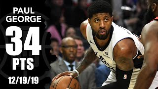 Paul George drops 34 points in Rockets vs. Clippers | 2019-20 NBA Highlights