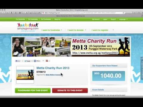 Creating & Managing a Team Fundraising Page - SimplyGiving.com Video Tutorial