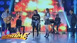 Karylle, Robin, Paolo and Isabella performs on It's Showtime