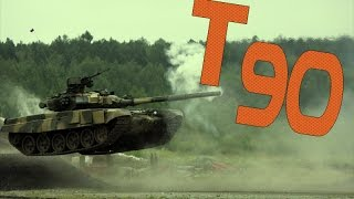 Танк Т90 / Russian Tank T90 in Action [HD]