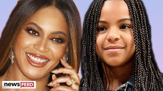 Blue Ivy Says THIS About Being Beyonce's Daughter!