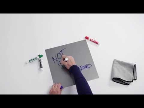 MDC FUZE Clear Dry Erase over Metal