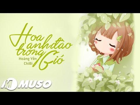 Hoa Anh Đào Trong Gió - Hoàng Yến Chibi [ Lyric Video ] | MV HD