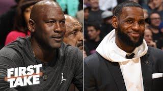 LeBron would be a better NBA team owner than Michael Jordan – Max Kellerman | First Take