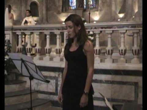 AVE MARIA F.Schubert (Soprano Ira Prat)