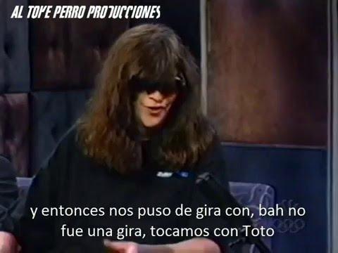 Joey Ramone on Conan O'Brien's - July 1999 (Subs en español)