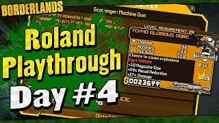Borderlands | Roland Playthrough Funny Moments And Drops | Day #4