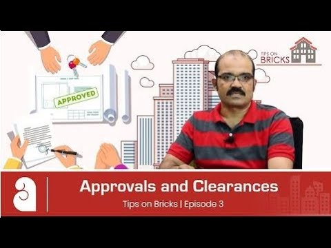 TIPS ON BRICKS: #3: Approvals and Clearances