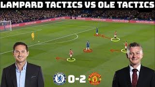 Tactical Analysis: Chelsea 0-2 Manchester United | Lampard Tactics vs Solskjaer Tactics |