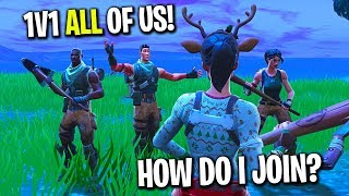 I tried out for a Fortnite Clan that a few of my fans made...