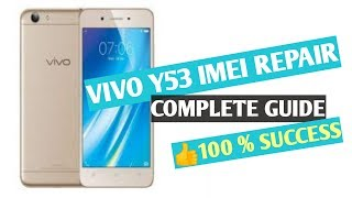 vivo y53 y51L y55s v5 + imei repair 100% done Without root
