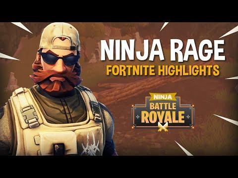 Ninja Rage! Fortnite Battle Royale Highlights - Ninja
