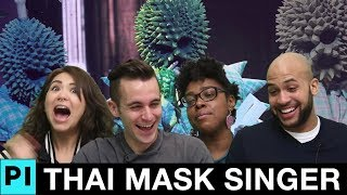 Americans React to Durian Mask Singer