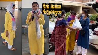 Anchor Suma appreciates 'Akshaya Patra Foundation'..