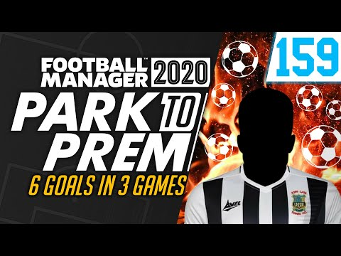 Park To Prem FM20 | Tow Law Town #159 - HE'S ON FIRE! | Football Manager 2020