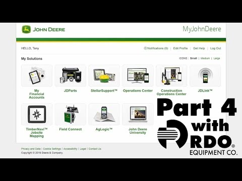 John Deere Operations Center Full Tutorial pt. 4 - Interactive Video by RDO Equipment Co.