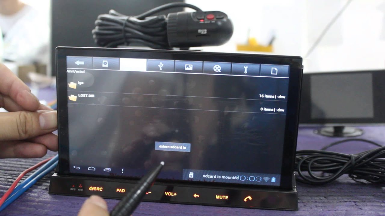 Android 4 0 Car Stereo Dvd Player With Detachable Android Tablet Support Dvr External Mic