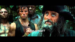 Pirates des caraïbes : la fontaine de jouvence :  bande-annonce 1 VOST