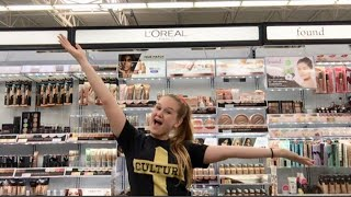 Shopping for DRUGSTORE MAKEUP at WALMART !