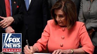 'The Five' breaks down impeachment antics after Dems deliver articles