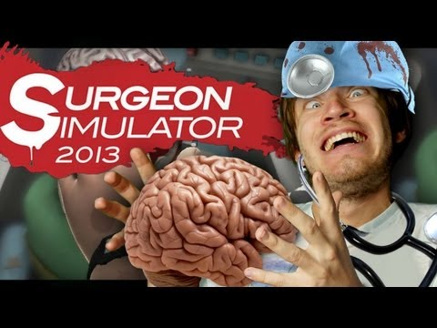 Surgeon Simulator 2013 (Full Version) - BRAIN SURGERY SUCCESS! - Part 3 - Smashpipe Games