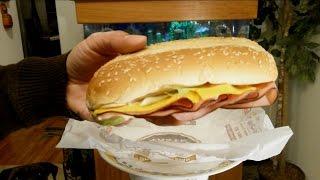Burger King Yumbo Hot Ham & Cheese Sandwich Review