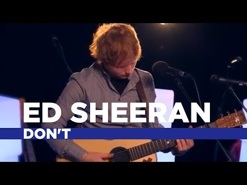 Ed Sheeran - Don't (Capital Session)