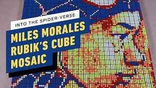 Spider-Man: Into the Spider-Verse - Miles Morales Rubik's Cube Art Timelapse