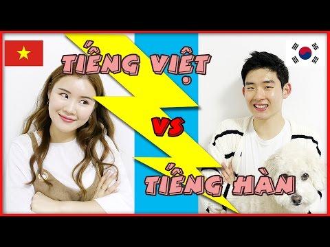 Tiếng Việt vs Tiếng Hàn