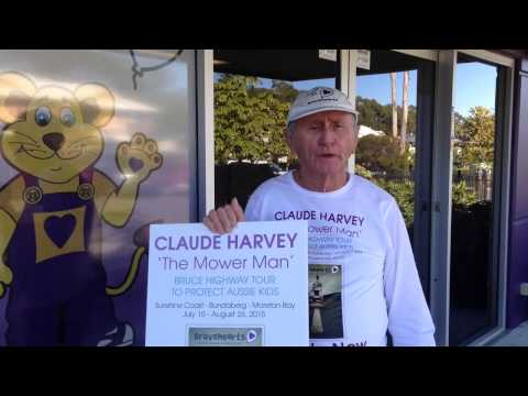 Claude 'the Mowerman' Harvey - 'Bruce Highway Tour' (July '15)