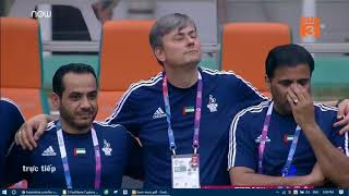 U23 Vietnam vs UAE  .loạt penalty _Trận Chung kết  tranh HCĐ asiad Châu á năm 2018
