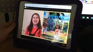 Moana | Disney Junior fans sing how far I'll go | Disney Junior advert
