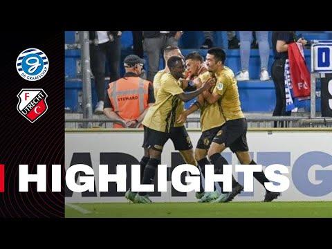 HIGHLIGHTS   Jong FC Utrecht oogst punt tegen Superboeren