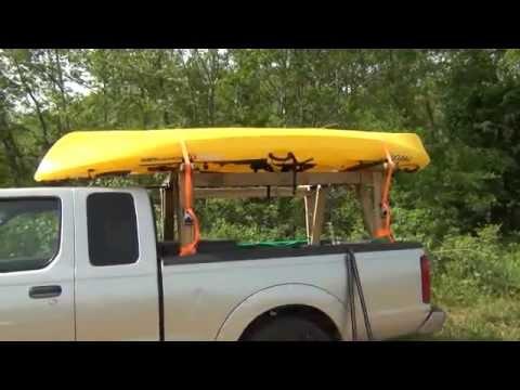 Useful Diy Roof Rack Canoe Jamson