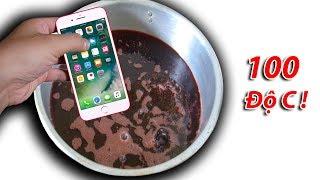 NTN - Thử Thả Iphone 7 Vào Nến Nóng Chảy 100 Độ C ( Iphone & Candle )