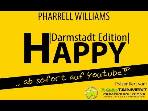Baixar Pharrell Williams - Happy (Darmstadt Edition) Germany #happyday