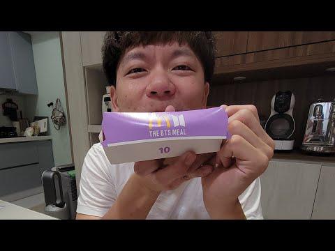 麥當勞X防彈少年團THE BTS MEAL限量套餐..有什麼?好吃嗎?