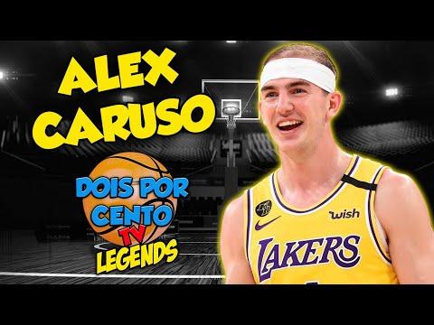 ALEX CARUSO - O MAIOR JOGADOR DO LAKERS DE TODOS OS TEMPOS - DOIS POR CENTO TV LEGENDS #7